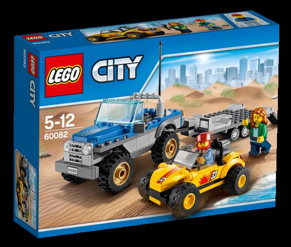 LEGO® CITY 60082 Strandbuggy mit Allrad-Geländetransporter
