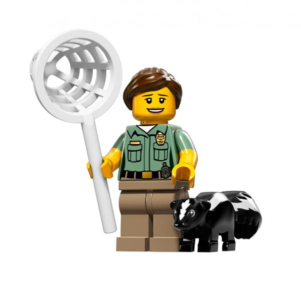 LEGO® Minifiguren Serie 15 - Tierfängerin 71011-08
