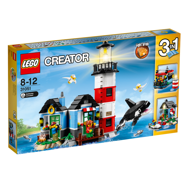 LEGO® Creator 31051 Leuchtturm-Insel