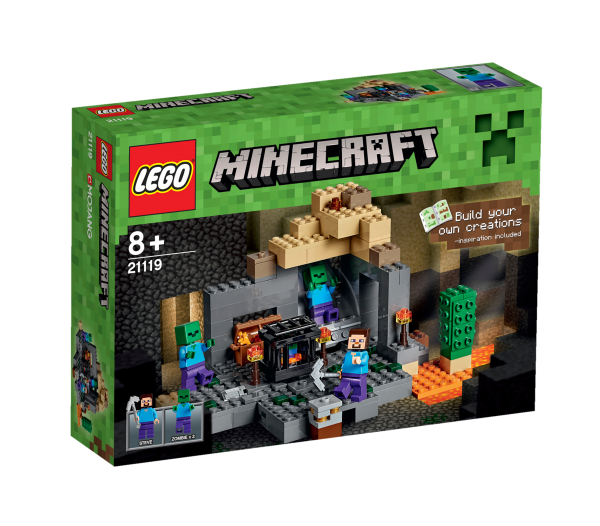LEGO® Minecraft 21119 Das Verlies