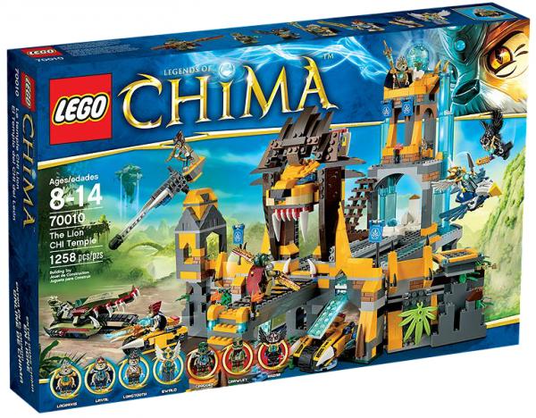 LEGO® Chima 70010 Der Löwen-CHI-Tempel