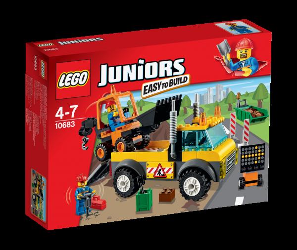 LEGO® Juniors 10683 Straßenbau-Lastwagen