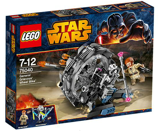LEGO® Starwars 75040 General Grievous' Wheel Bike