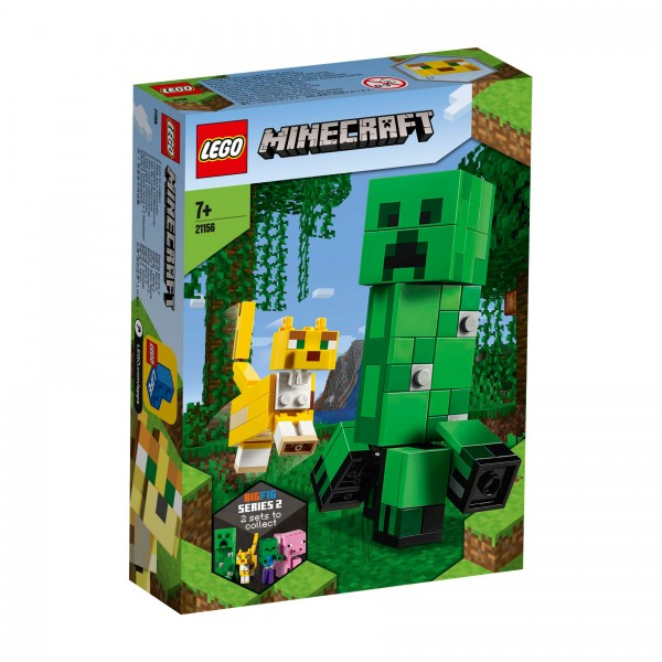 LEGO® Minecraft 21156 BigFig Creeper™ und Ozelot