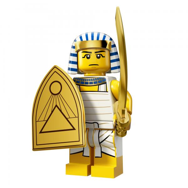 LEGO® Minifiguren Serie 13 - Egyptian Warrior 71008-08