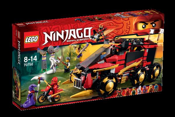 LEGO® Ninjago 70750 Mobile Ninja-Basis