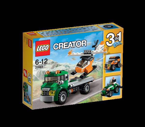 LEGO® Creator 31043 Hubschrauber Transporter