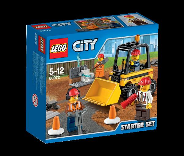 LEGO® CITY 60072 Abriss-Experten Starter Set