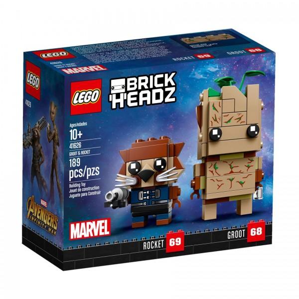 LEGO® BrickHeadz 41626 Groot und Rocket