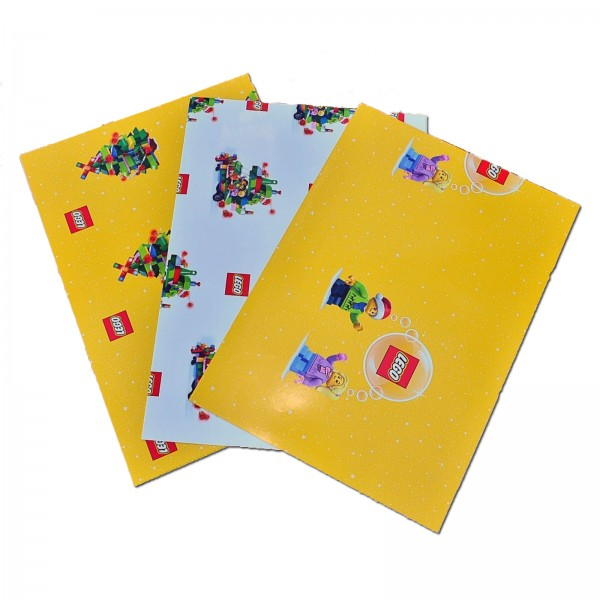 LEGO® 6255643 XMAS Geschenkpapier
