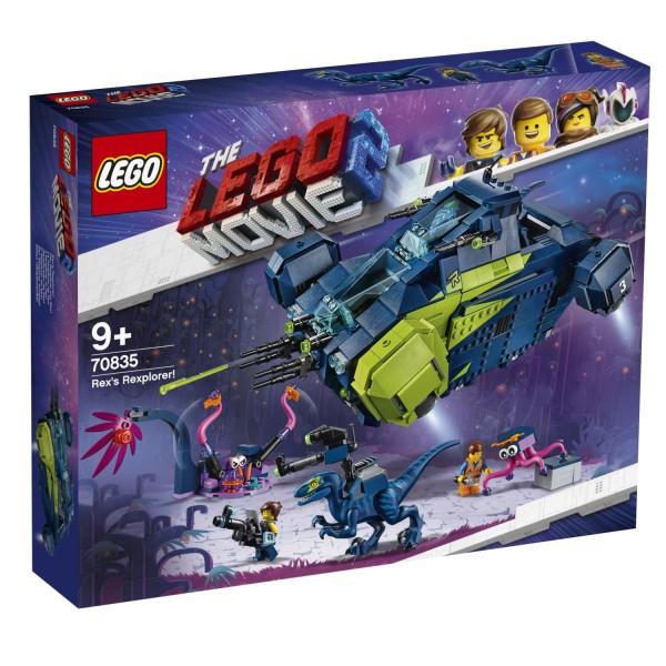 LEGO® Movie 2 - 70835 Der Rexplorer von Rex!