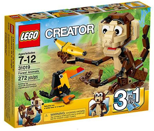 LEGO® Creator 31019 Urwald Tiere