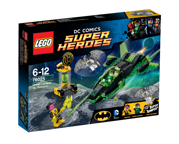 LEGO® DC Universe Super Heroes 76025 Green Lantern vs. Sinestro