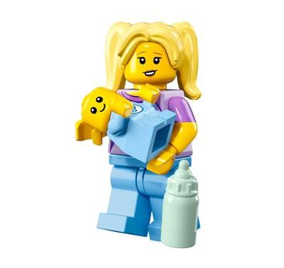 LEGO® Minifiguren Serie 16 - Babysitterin 71013-16
