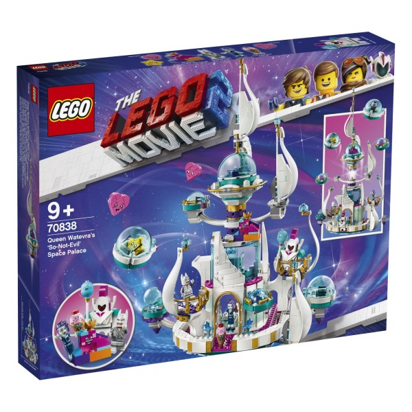 "LEGO® Movie 2 - 70838 Königin Wasimma Si Willis ""gar nicht böser"" Space-Tempel"