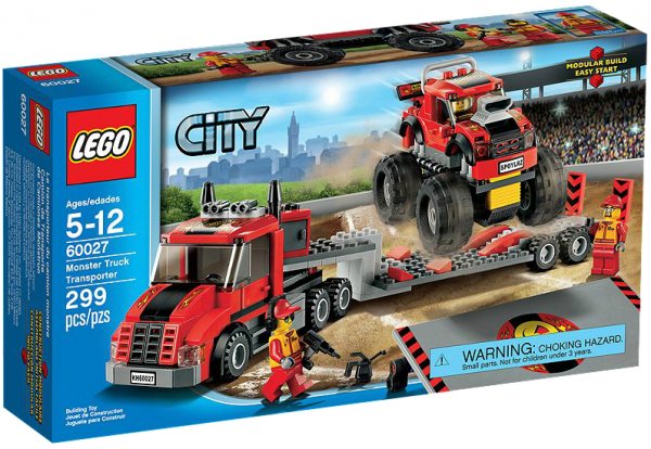 LEGO® CITY 60027 Monster-Truck Transporter
