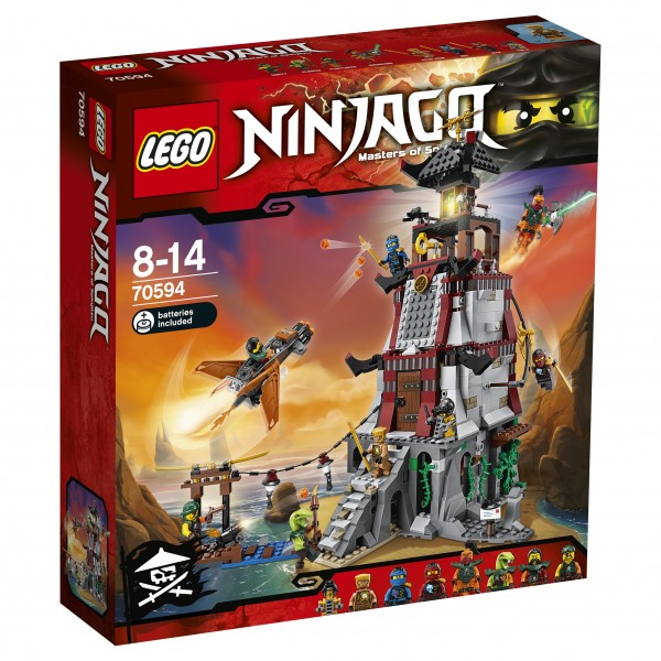 LEGO® Ninjago 70594 Die Leuchtturmbelagerung