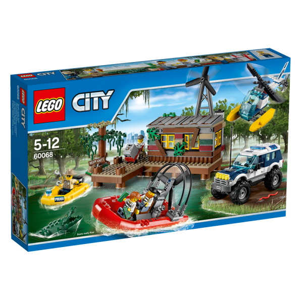 LEGO® CITY 60068 Banditenversteck im Sumpf