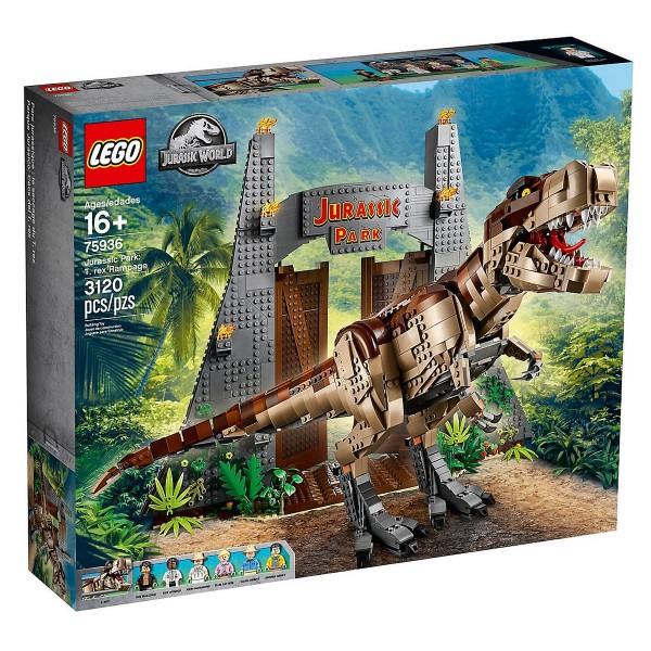 LEGO® Jurassic World 75936 Jurassic Park: T. Rex' Verwüstung