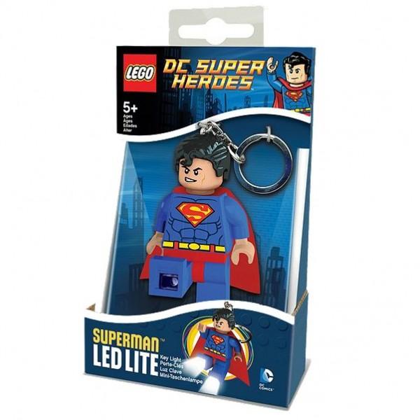 LEGO® 5002913 Schlüsselanhänger Superman mit Licht