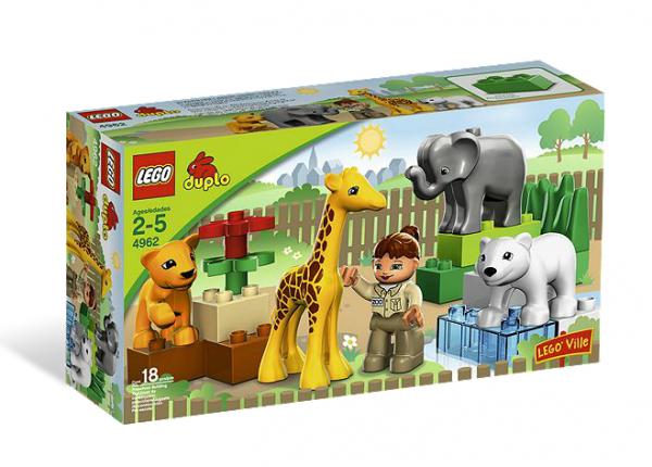 LEGO® DUPLO® 4962 Tierbabys