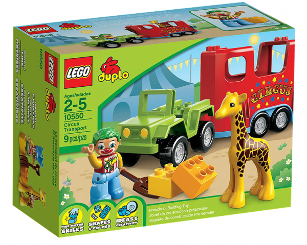 LEGO® DUPLO 10550 Zirkustransporter