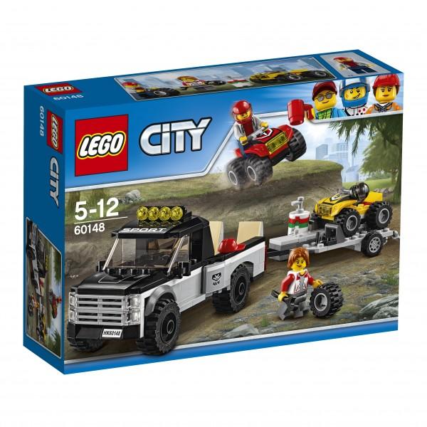 LEGO® CITY 60148 Quad-Rennteam