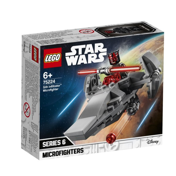 LEGO® Starwars 75224 Sith Infiltrator™ Microfighter