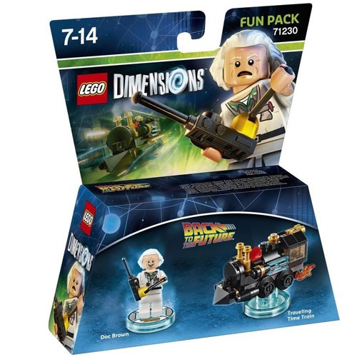 LEGO® Dimensions 71230 Fun Pack Back to the Future: Doc Brown