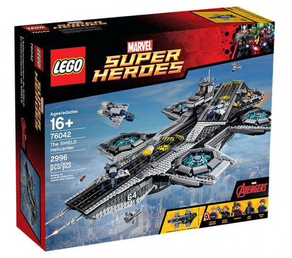 LEGO® Marvel Super Heroes 76042 The SHIELD Helicarrier
