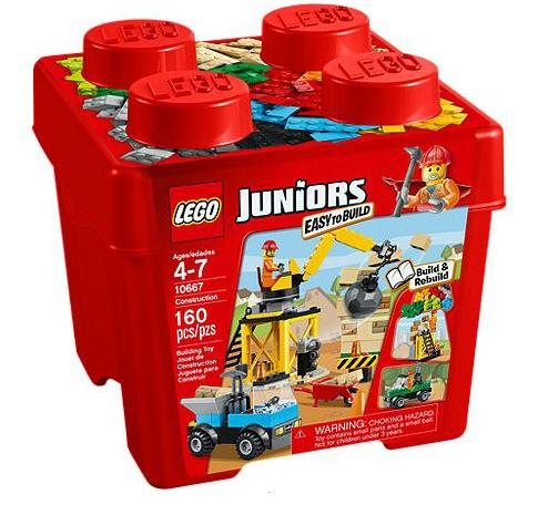 LEGO® Juniors 10667 Starter Steinebox Baustelle