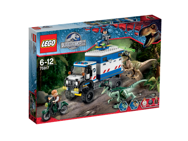 LEGO® Jurassic World 75917 Raptor-Randale