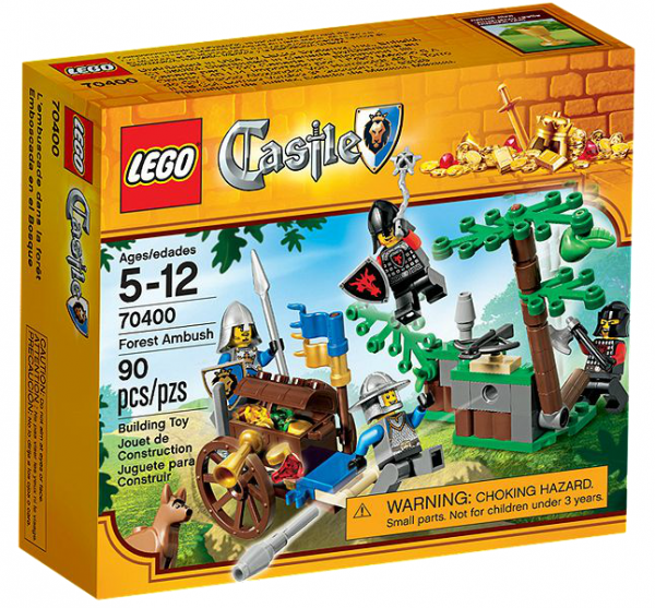 LEGO® Castle 70400 Angriff auf den Goldtransport