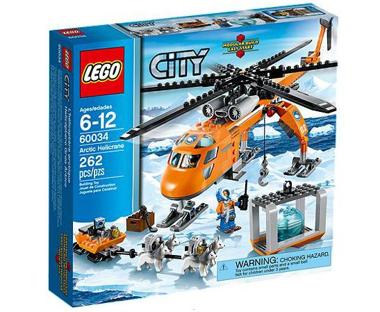 LEGO® CITY 60034 Arktis-Helikopter mit Hundeschlitten
