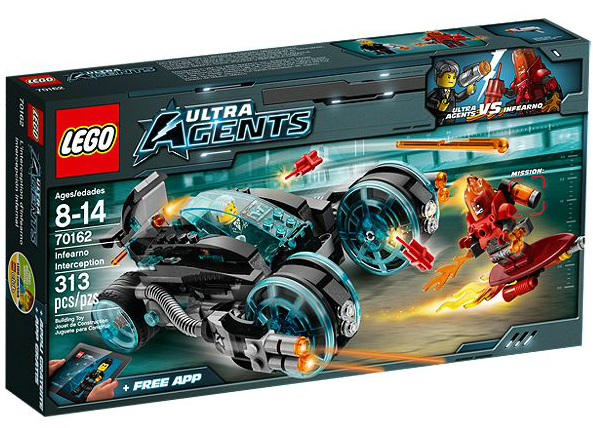LEGO® Ultra Agents 70162 Infearnos Interceptor