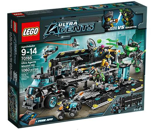 LEGO® Ultra Agents 70165 Ultra-Agenten-Hauptquartier