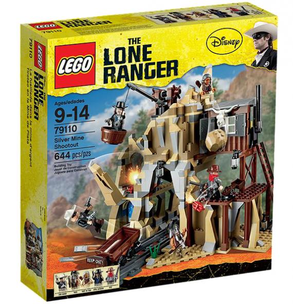 LEGO® Lone Ranger 79110 Gefahr in der Silbermine