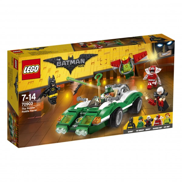 The LEGO® Batman Movie 70903 The Riddler: Riddle Racer