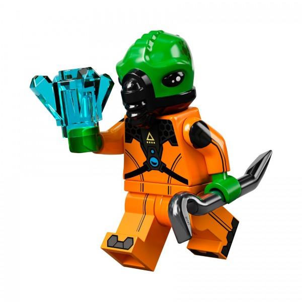 LEGO® Minifigur Serie 21 71029-11: Alien-Bösewicht