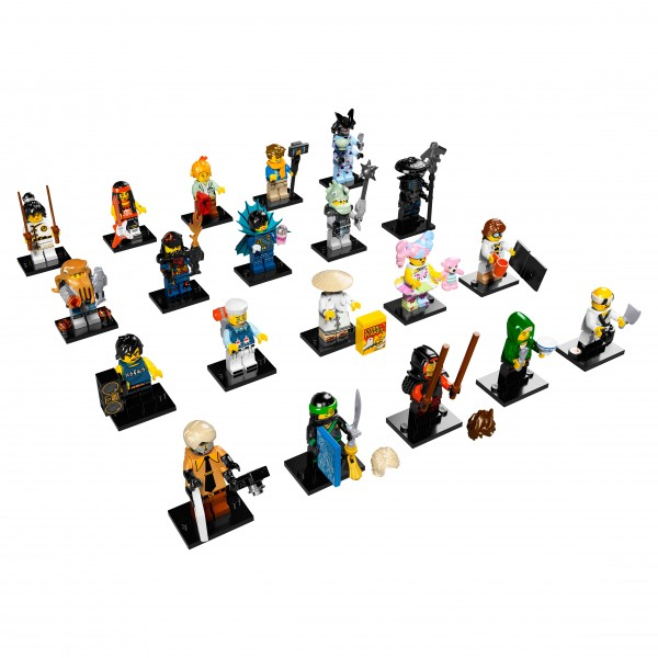 LEGO® 71019 NINJAGO Movie Minifiguren - alle 20 Figuren