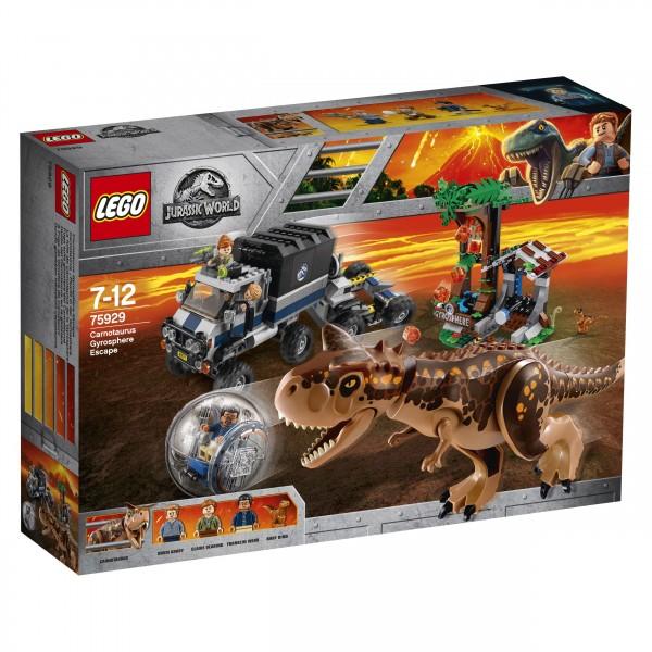 LEGO® Jurassic World 75929 Carnotaurus - Flucht in der Gyrosphere