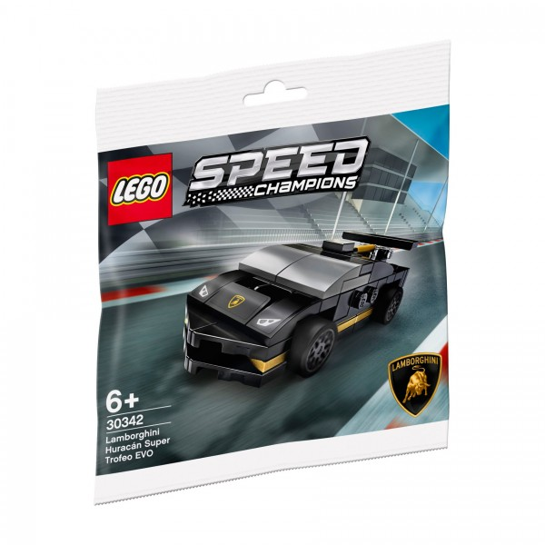 LEGO® Speed Champions 30342 Lamborghini Huracán Super Trofeo EVO