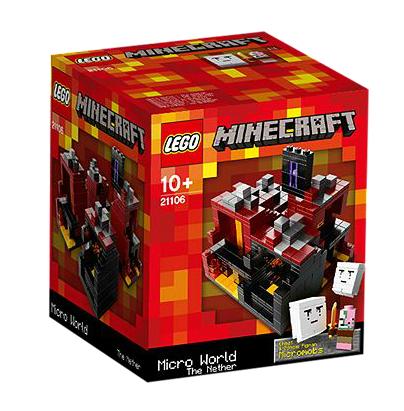 LEGO® 21106 Minecraft The Nether
