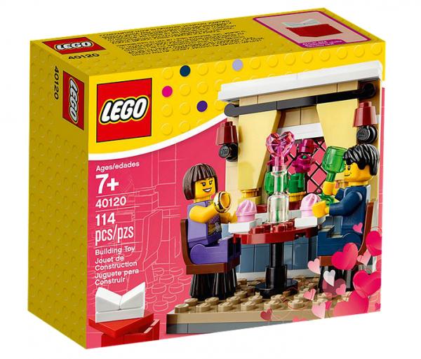 LEGO® 40120 Valentinstag-Dinner