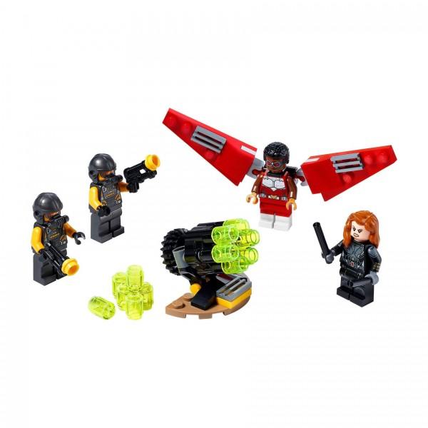 LEGO® Marvel Super Heroes™ 40418 Falcon™ und Black Widow machen gemeinsame Sache
