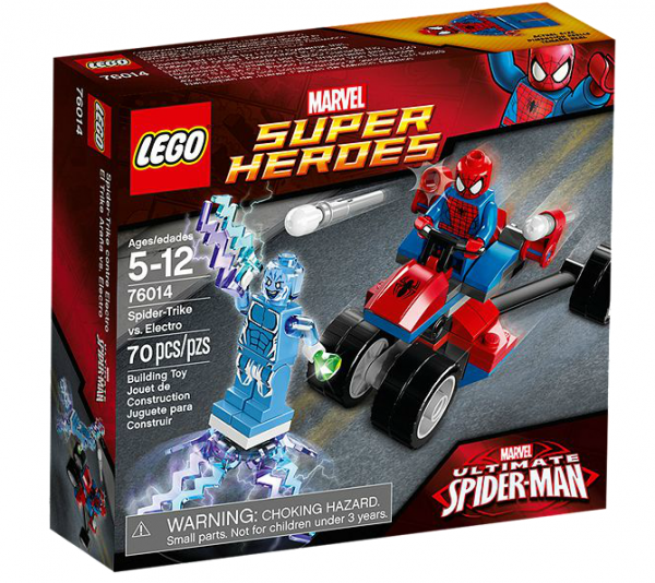 LEGO® Marvel Super Heroes 76014 Spider-Trike vs. Electro