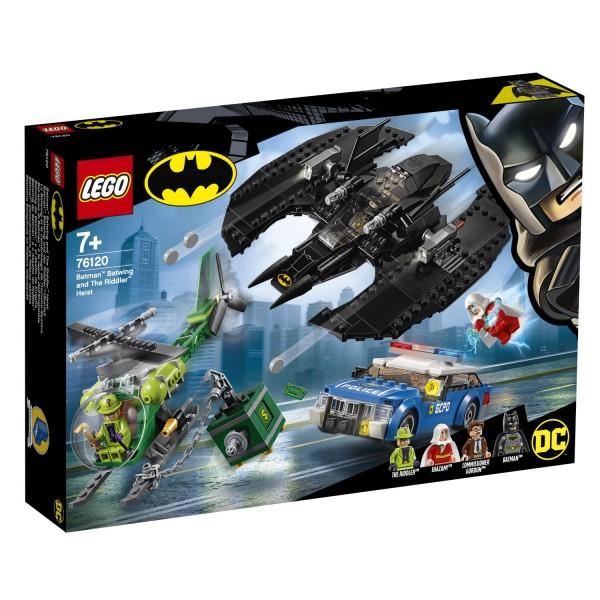 LEGO® DC Universe Super Heroes 76120 Batman™: Batwing und der Riddler™-Überfall