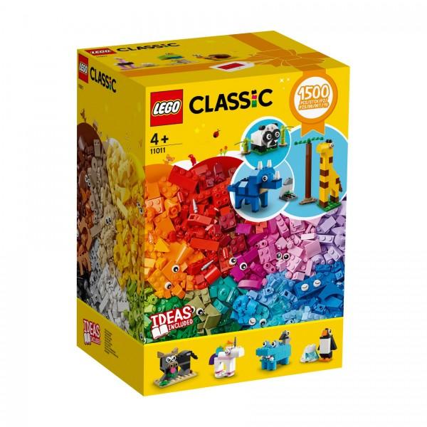 LEGO® Classic 11011 Bausteine - Spaß mit Tieren