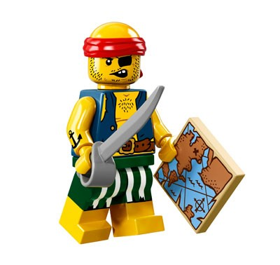 LEGO® Minifiguren Serie 16 - Piratenstrolch 71013-09