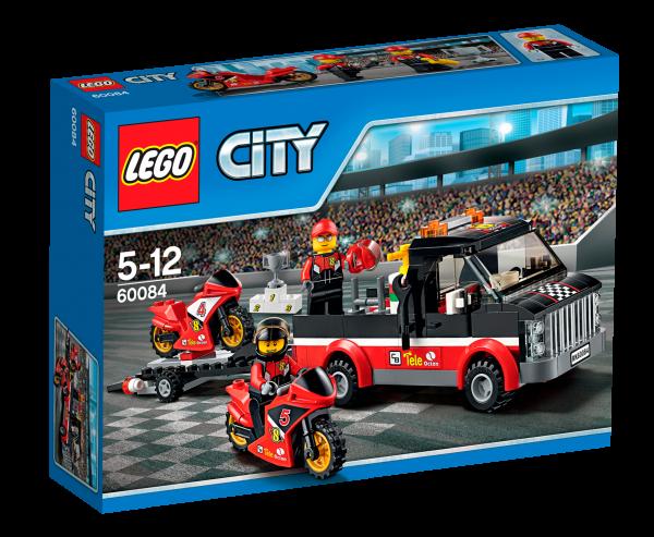LEGO® CITY 60084 Rennmotorrad-Transporter
